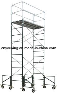 "Steel Ladder Frame Tower Scaffold 36""Wx84""Lx170""H Scaffolding"