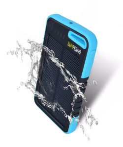 5000mAh Dual USB External Portable Solar Phone Charger