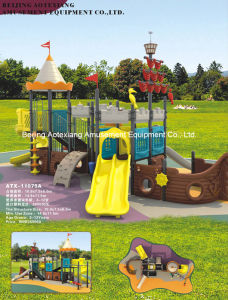 Outdoor Playground Slides-Pirate Ship (ATX-11075A)