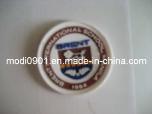 Rubber Label (KS-RL0123) Custom Silicone 3D Rubber Clothing Label for Clothes, Shoes