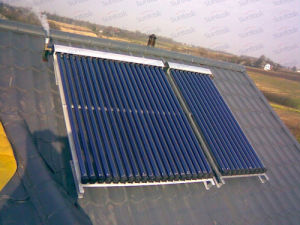 Scm Solar china suntask evacuated solar collector with solar keymark scm