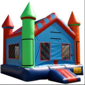 Inflatable Multi Color Castle (CC-0220)