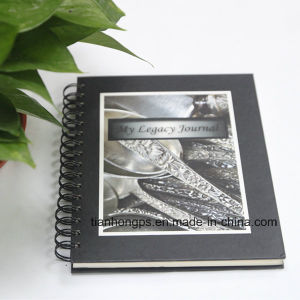 Spiral Notebook/ (OEM-WR013) Spiral Bound Book Printing pictures & photos