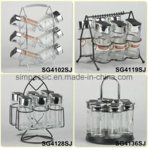 Spice Jar Set / Salt & Pepper Shaker / Cruet Set (SG4102SJ / SG4119SJ / SG4128SJ / SG4136SJ) pictures & photos