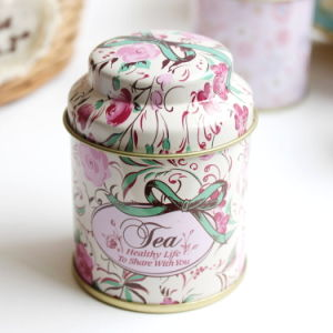 Wholesale Custom Round Tea Tin Can pictures & photos