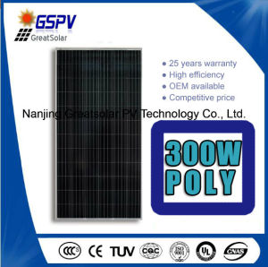 300W Solar Panel with Superior Quality and Reasonable Price for Home Solar Systems pictures & photos