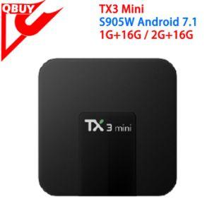 Tx3 Mini Android 7 1 TV Box Amlogic S905W 1GB/2GB RAM 16GB ROM Kodi 17 5  Smart TV Box Update From Tx3 PRO Best Selling