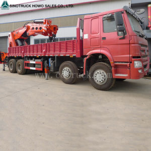 Sinotruk 5t to 10t 12t Crane Truck Mounted Crane pictures & photos