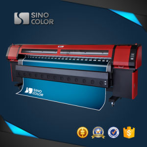 Digital Flex Banner Vinyl Sticker Solvent Inkjet Printing Machine with Original Seiko Konica Printhead pictures & photos