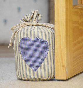 Cute Design Canvas Door Stop With Filling Of Sand And PP Cotton