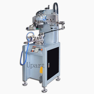 Single Color Automatic Cosmetics Bottles Screen Printer Machine