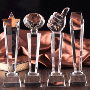Popular K9 Crystal Glass Trophy Craft for Souvenir pictures & photos