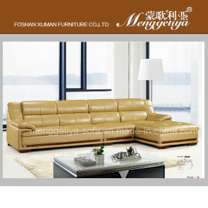 Top Grain Leather Traditional Sofa (802#)