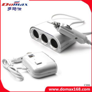 Multi Sockets Power Port Car Charger Cigarette Lighter pictures & photos