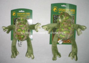 Dog Toy Plush Squeaker Frog Pet Toy pictures & photos