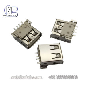 China SMT USB Plug Socket 4 Pinout Type a Female USB Connector to ...