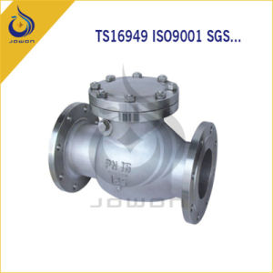 Iron Casting Water Pump Spare Parts Check Valve pictures & photos