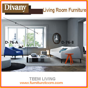 D-76 Divany Living Room Furniture Set Modern New Design Sofa pictures & photos