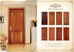 China Modern House Design Wooden Door