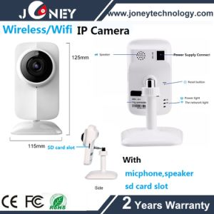 Cheap Night Vision HD Wireless WiFi IP Camera with Speaker Microphone SD Card Slot pictures & photos