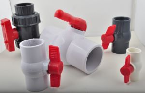"1/2""-4"" PVC Ball Valve Good Quality Plastic Valve PVC Valve for Irrigation pictures & photos"