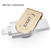 Eaget I80 U Disk Lightning USB Flash Drive/ Disk for Iphones, Ipads