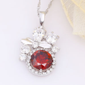 Cool Jewelry Rhodium Color Plated Cubic Zircon Pendant pictures & photos