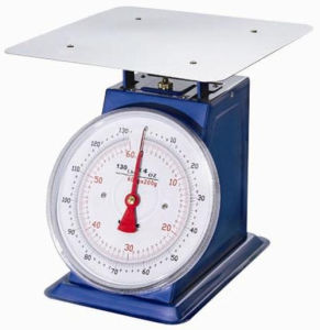 100kg Heavy Duty Mechanical Kitchen Scale with Large Size Dial pictures & photos