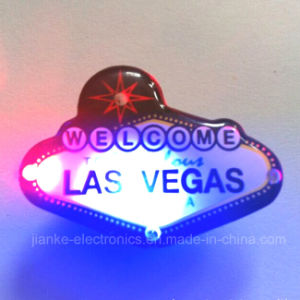Las Vegas LED Blinking Pins (3161)