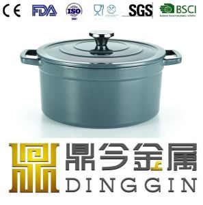 Double Use Cast Iron Milk Pot Manufacturer pictures & photos