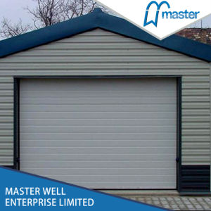 Automatic Double Track Waterproof Garage Doors, Large Garage Door pictures & photos
