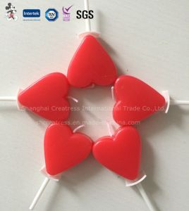 Heart Shaped Paraffin Wax Candle for Wedding pictures & photos