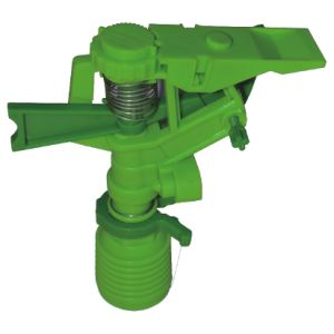 "Femal Impulse Sprinkler 1/2"" Controllable Angle and Rocker Arm Irrigation Sprinkler Garden Sprinkler"