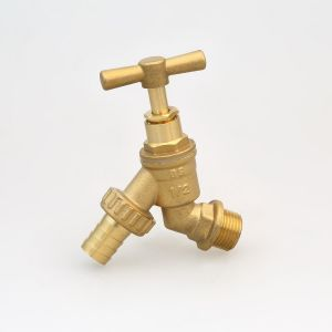 "Brass Stop Cock 1/2"", BS1010 Hose Tap (Hx-2005)"