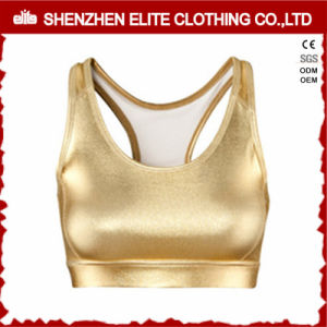 Youth Fitness PU Leather Sports Bra Sex pictures & photos