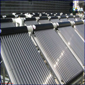 Split Heat Pipe Pressure Solar Collector System