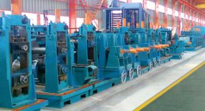 High Frequency Straight Welded Pipe Production Line ERW 114