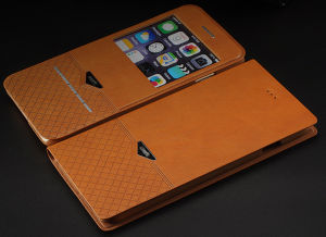 Super Quality Reasonable Price Leather Sublimation Phone Case for iPhone 6