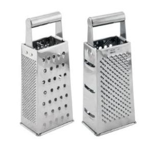 Stainless Steel 4-Way Vegetable Grater for Kitchen (10084VG/10094VG) pictures & photos