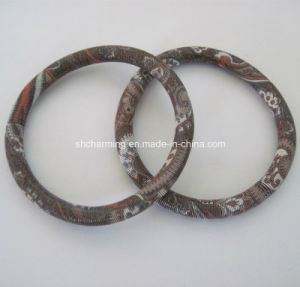 Fashion Metal Spring Lady Bangles Coil Bracelets
