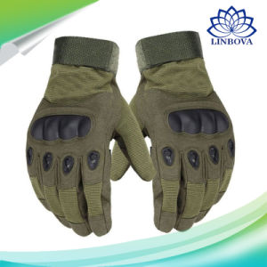 Mens Military Combat Tactical Gloves Hard Knuckle Army Security Police 1 size