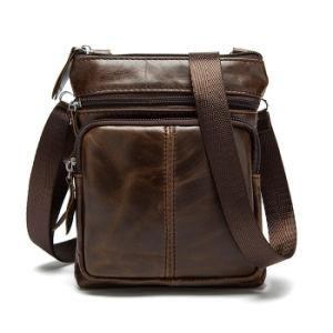 Vintage Crazy Horse Leather Sling Bag Handbag Travel Outdoor Crossbody Backpack