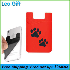 new style 87d05 39848 Adhesive Silicone Cell Phone Pockets
