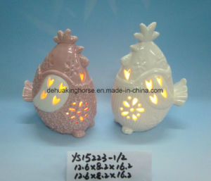 Easter Bunny with Egg Tealight Candle Holder pictures & photos