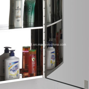 Modern Style Stainless Steel Furniture Bathroom Mirror Cabinet (7057) pictures & photos