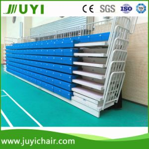 Retractable Grandstand Used Bleachers for Sale Used Bleachers Seating System Jy-750 pictures & photos