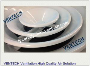 Round Ceiling Diffuser with Plastic Damper HVAC Air Diffuser pictures & photos