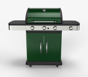 Euro Cheap 3 Burner Gas Grill Barbecue on Sale pictures & photos