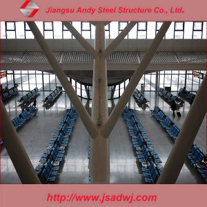 Light Weight Large Span Arched Steel Frame Roof Truss System