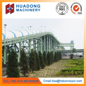 High Quality Overland Curved Belt Conveyor pictures & photos